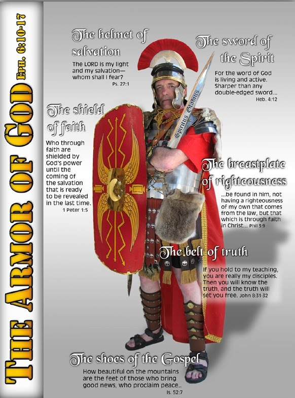 armor of god poster. the whole armour of God,