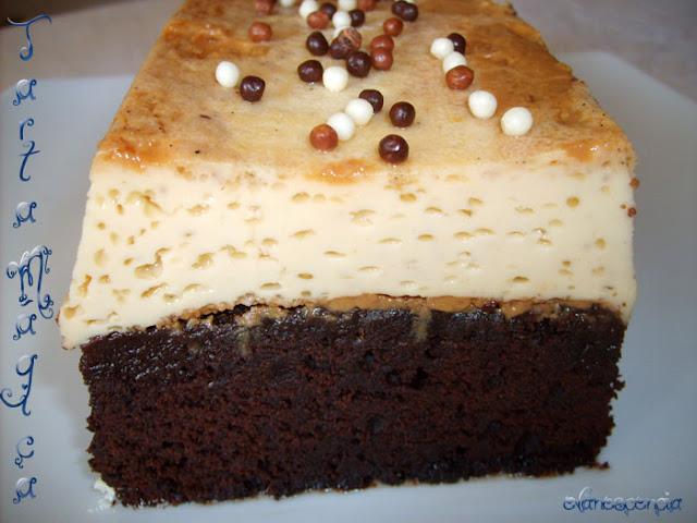 corte tarta imposible