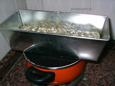 masa de pan de pipas levando