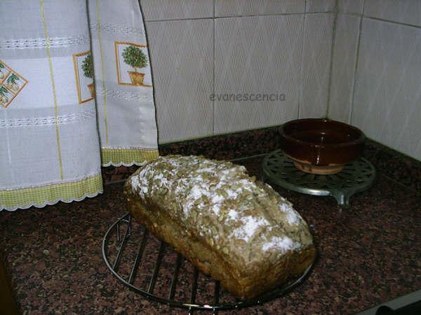 pan de pipas enfriandose