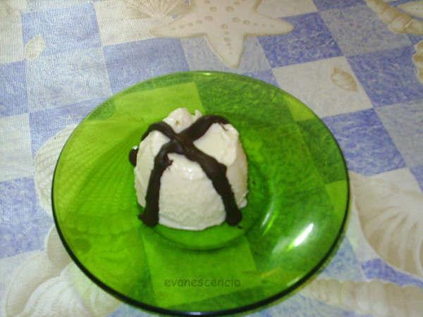 delicioso helado de arroz con leche