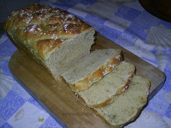 otra perspectiva del pan de ajo