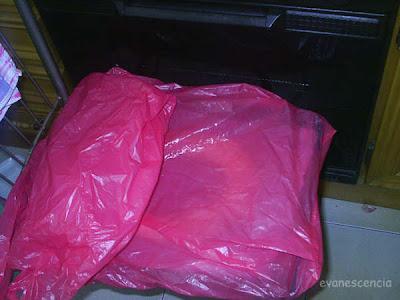 roscon tapado con bolsas