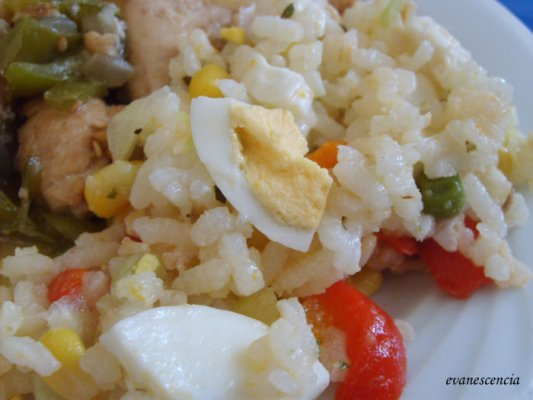 ensalada de arroz