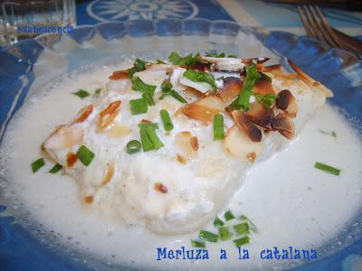 merluza a la catalana emplatada