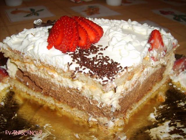 capas de la tarta