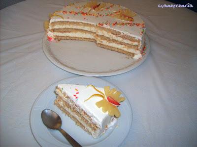 ración de tarta