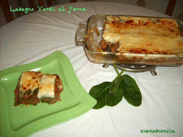 lasagna verdi al forno