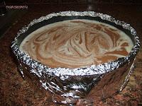 molde preparado para horno