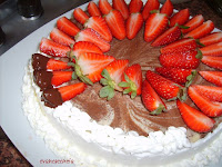fresas con chocolate