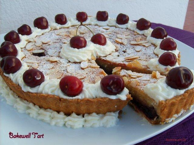 deliciosa tarta bakewell