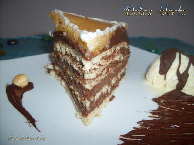 ración tarta dobos