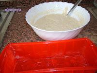 molde untado con mantequilla