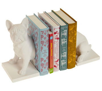 Z Gallerie Pug Bookends Canine companion bookends in