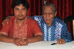 Yudhis bersama Prof. Dr. Agus Salim Sitompul