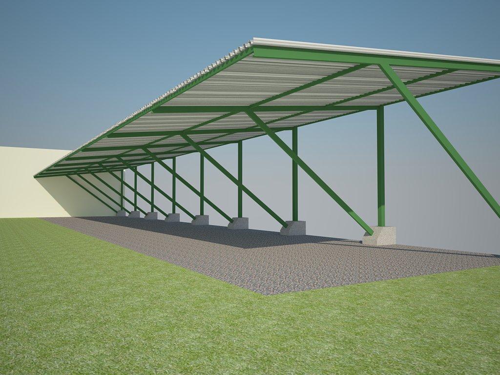 Ideas dise o arquitectura cocheras para camping aoita - Cocheras abiertas ...