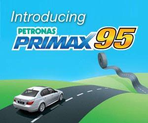 Perjalanan Primax 95
