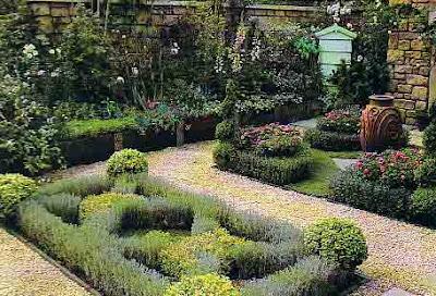 El abc de las plantas online jardin de hierbas aromaticas - Plantas aromaticas jardin ...