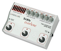Review do pedal de guitarra TriEFX Overtone da Landscape na Central do Rock