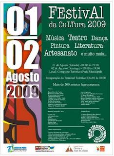 Festival da Cultura de Lagoa da Prata - 2009
