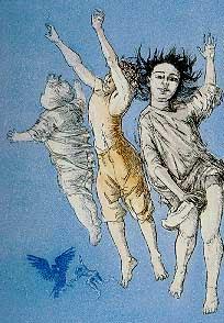 Paula Rego- Flying children