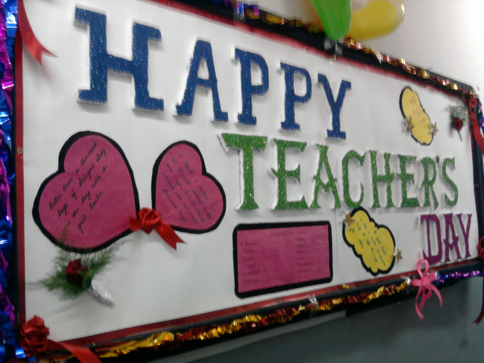 teachers day celebration Upcoming world teacher days a special day to celebrate teachers - teachers' day when people remember individuals who have helped them, teachers are often at the top of the list.