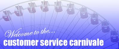 Customer Service Carnivale Header