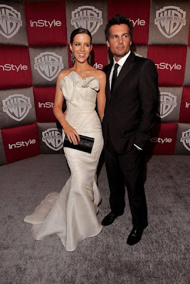 Kate Beckinsale and Len Wiseman at 2009 Golden Globe Awards