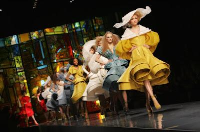 Christian Dior runway Spring 2009