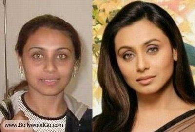 rani mukerjee hot bollywood actress without makeup