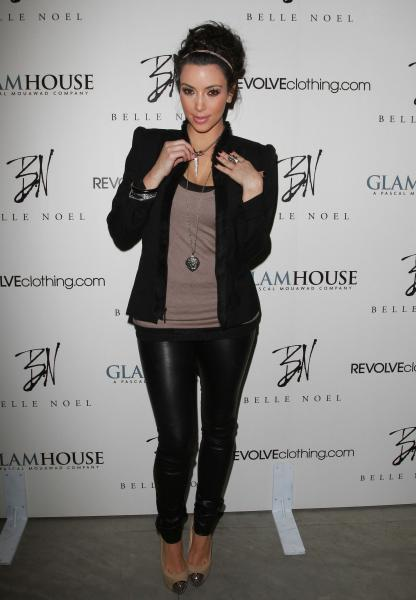 Kim Kardashian Belle hot sexy pics at Noel Jewelry Collection