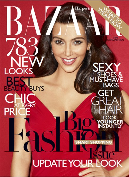 hot celebrities pics kim kardashian sexy pics photos for harper's bazaar magazine