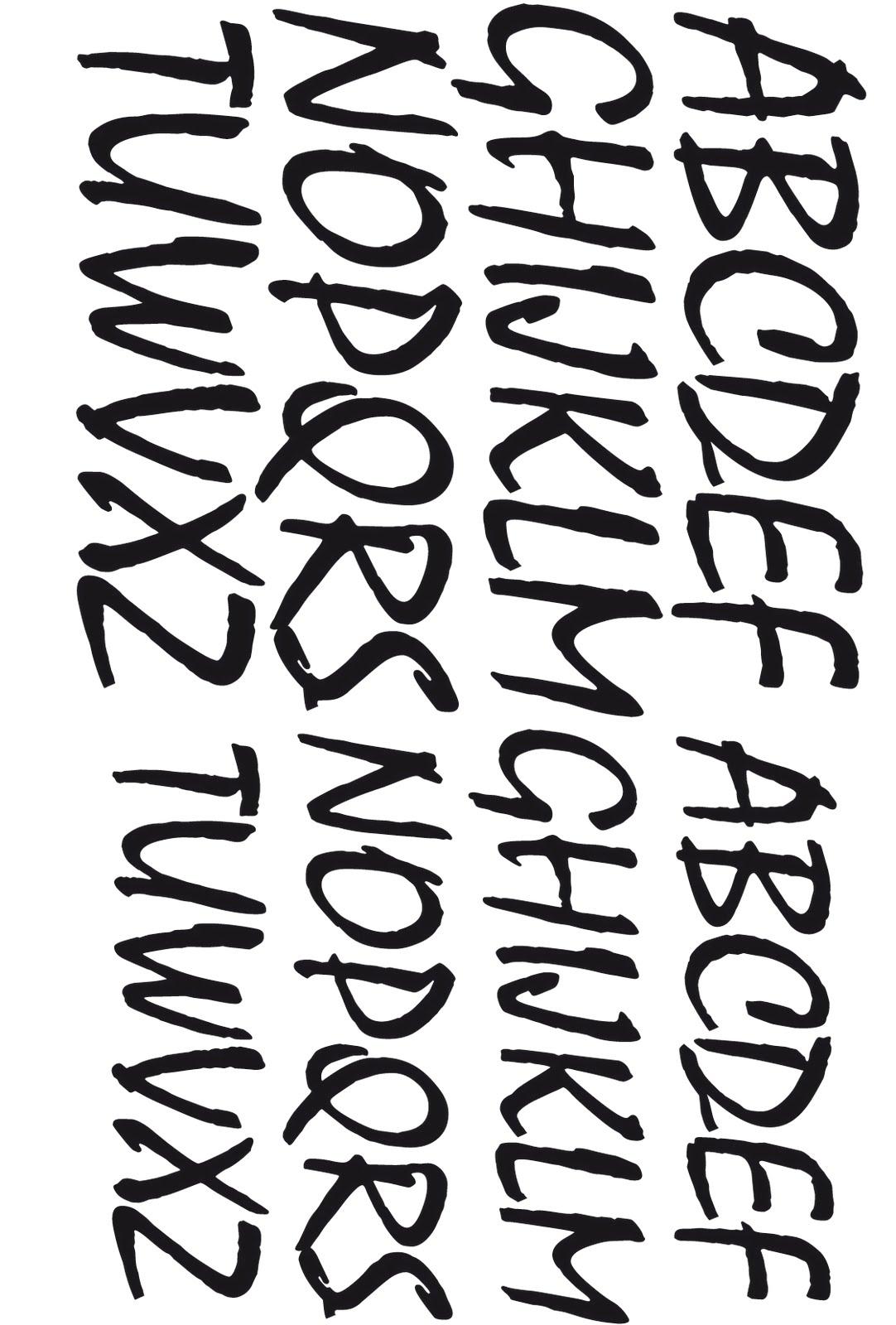 letras diversas