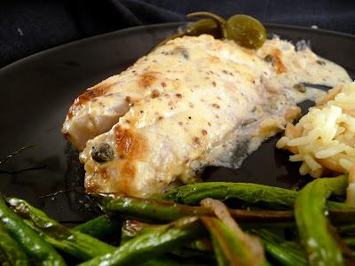 Crabby cook mustard roasted fish for Ina garten mustard fish