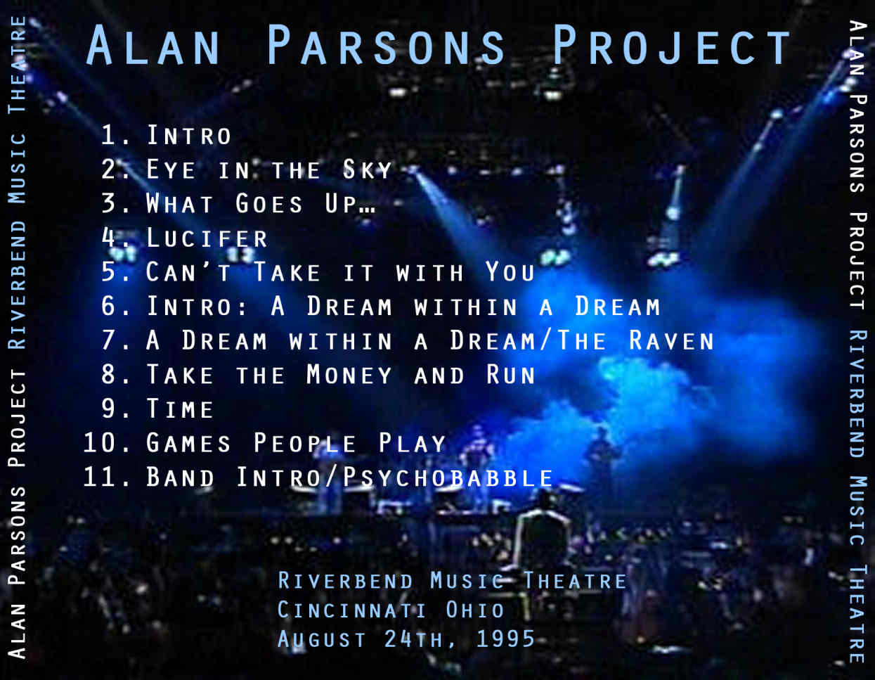 alan parsons project time