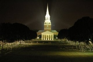 Thoughts and Experiences from WFU MBA