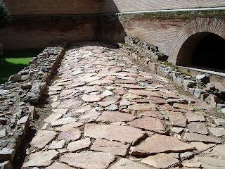 Calzada romana en Mérida