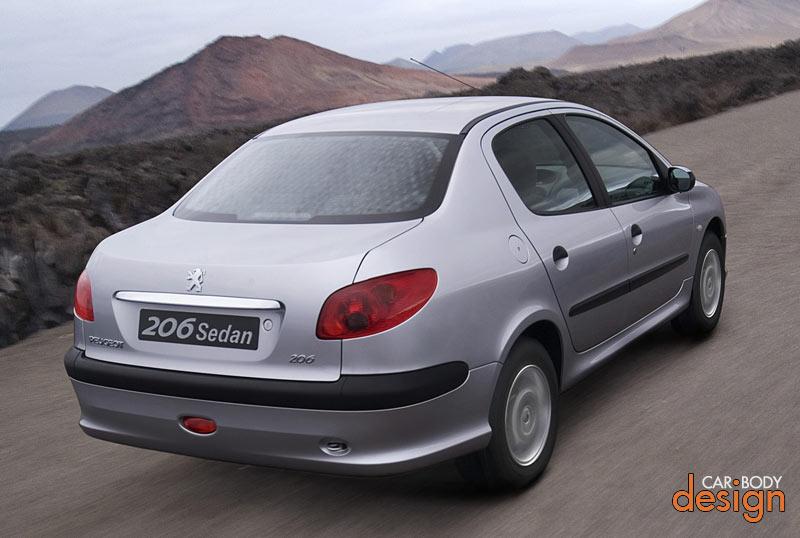 Peugeot Cars: car body designs Peugeot 206