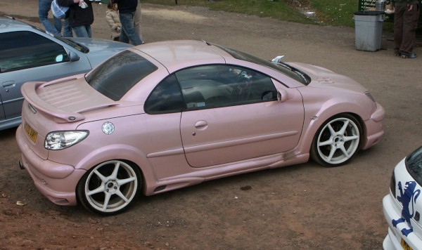 Peugeot 206 Gti Interior. Peugeot 206 Pink Modified