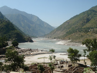 The river Indus in Pakistan