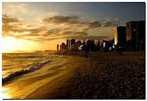 Pôr de sol no Rio
