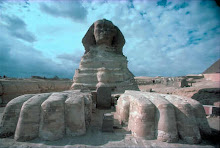 LA Esfingue y la gran pirámide