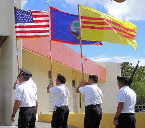 Toán Quốc Quân Kỳ Hoa Kỳ và VNCH ở Guam