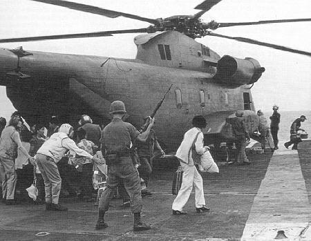 CH53 Trên Hàng Không Mảu Hạm