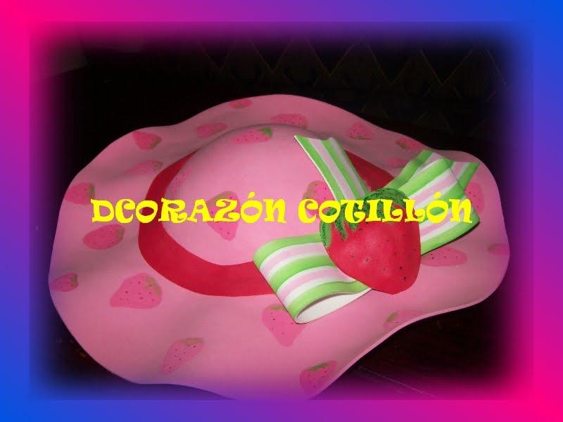 DE CORAZON COTILLON: FRUTILLITAS