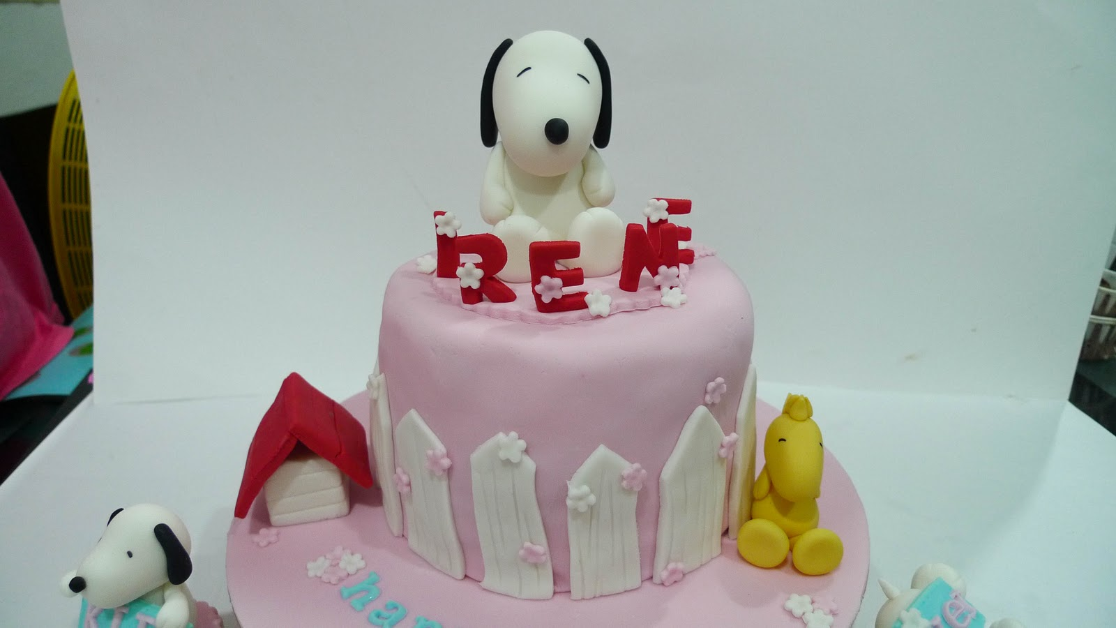 Sweet Clay Snoopy and Woodstock