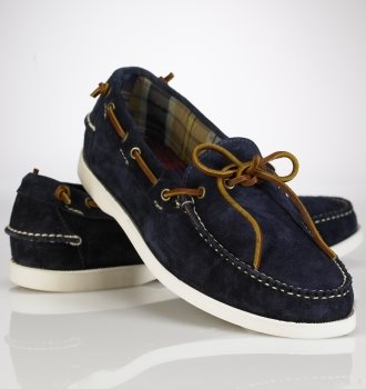 ralph lauren men's boat shoe's