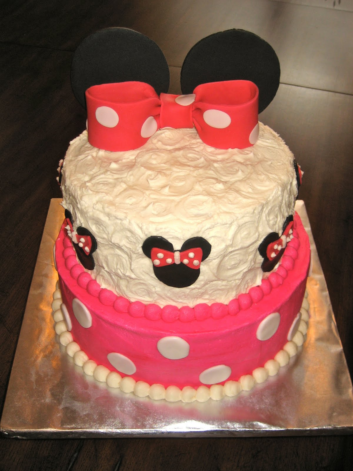 Ashley S Cakery Minnie Mouse Cake