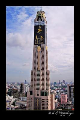 Clicking Moments: Baiyoke Tower II, Bangkok