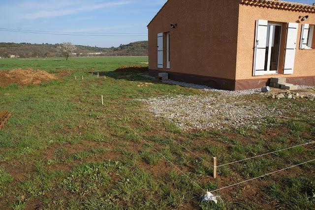 Notre Maison En Provence Cration De La Terrasse Et Du Drainage